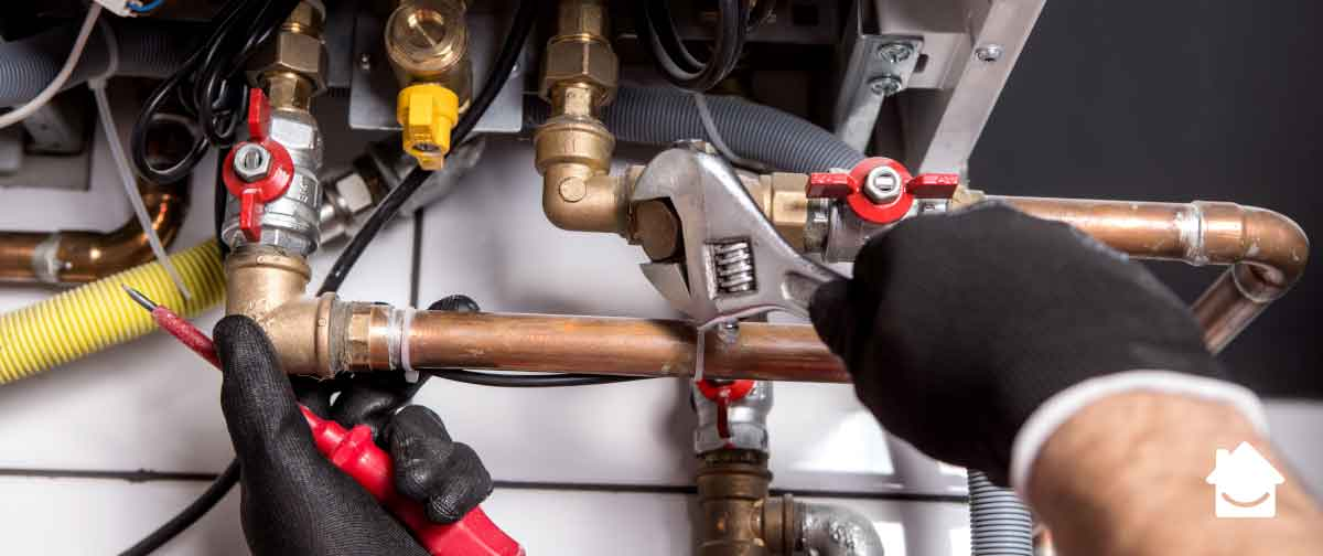 Gas safety - get a boiler service each year