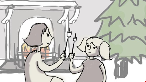 An example of the storyboard..