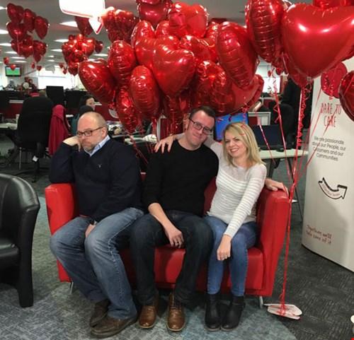 HomeServe Valentine's celebrations
