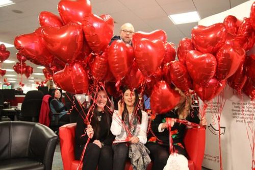 HomeServe celebrates Valentine's