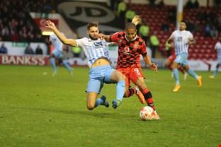 Simeon Jackson of Walsall FC