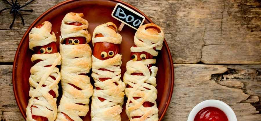 Mummified Sausage Rolls