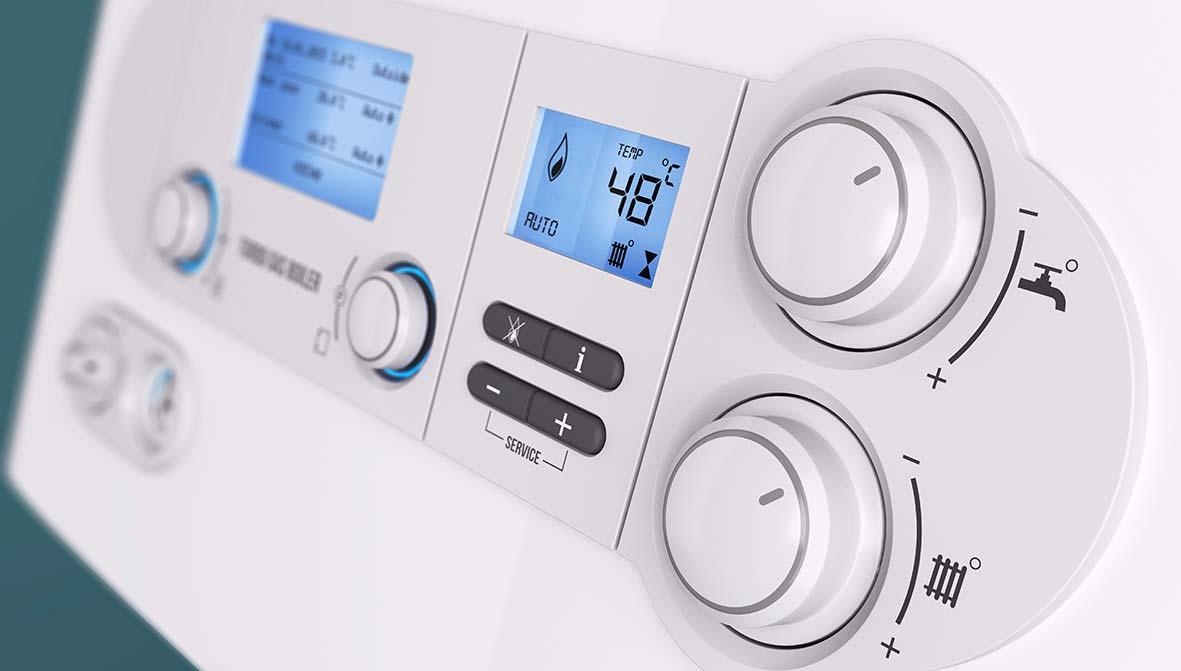 Modern condensing boiler