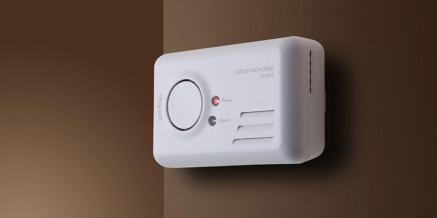 Get an audible carbon monoxide alarm/detector