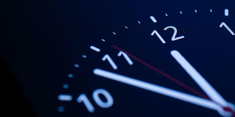 set timer on boiler