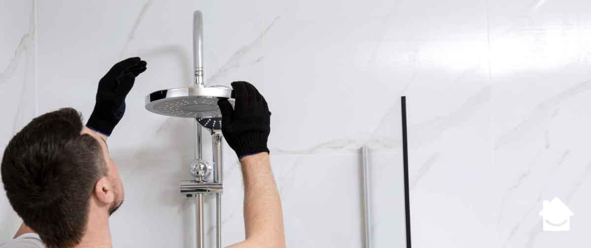 Shower head - low pressure shower
