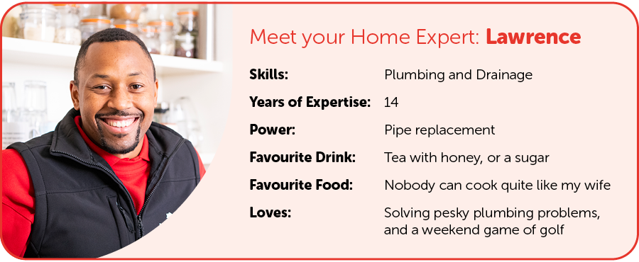 engineer profile Card of Laurence - TEA with HomeServe